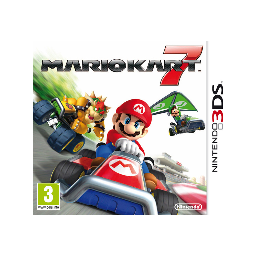 Game Deals Nintendo Mario Kart 7 игровая приставка nintendo 2ds xl white lime mario kart 7 connd2d15