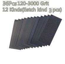 Влажная сухая фотобумага 120 3000 36 шт/компл абразивный ассортимент