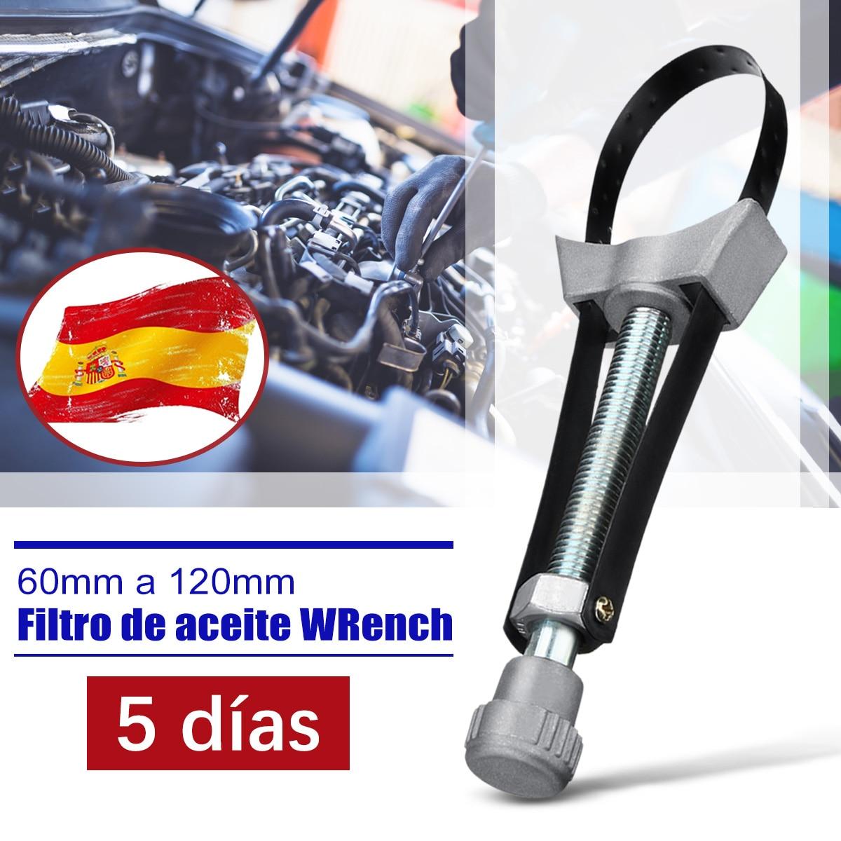 Cl/é r/églable Pince 30,5/cm filtre /à huile /à la main Outil de d/émontage de voiture DIY Construction en acier solide