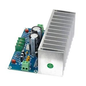 Image 3 - TDA7293 ses amplifikatörü Kurulu 100Wx2 Dijital Stereo güç amplifikatörü Kurulu Heatsink Çift AC12 32V