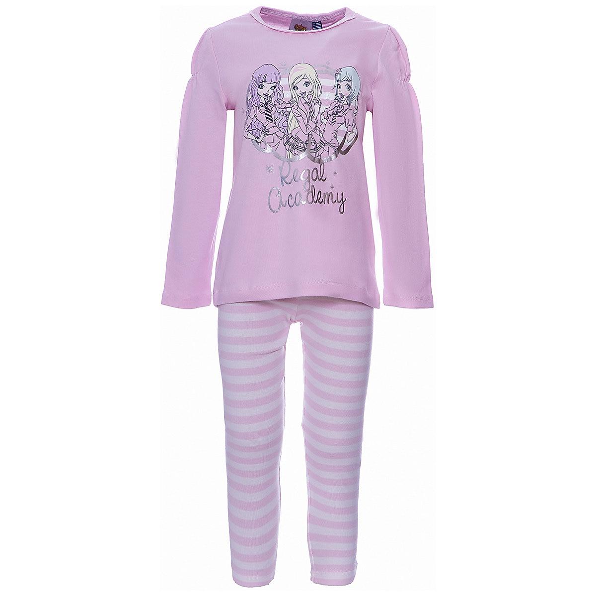 ORIGINAL MARINES Pajama Sets 9500904 Cotton Girls childrens clothing Sleepwear Robe parrot print cami pajama set with robe
