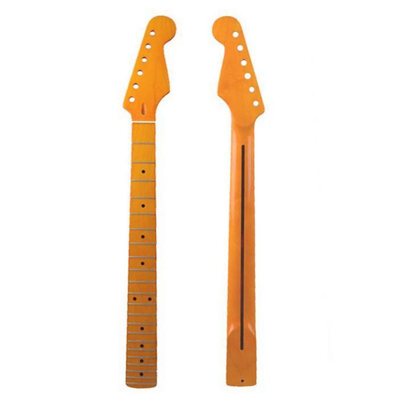 ST Guitare Électrique Cou Canada D'érable 22 Fret Guitare Électrique Cou Guitarra Pièces De BRICOLAGE Accessoires