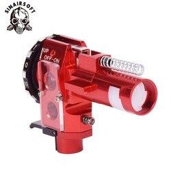 Тактический PRO AEG CNC алюминиевый красный хоп вверх камера для M4 M16 страйкбол Охотничьи аксессуары Пейнтбол цель Стрельба Бесплатная доставка