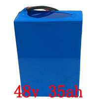48V 2000W battery 48V 35AH electric bike battery 48V 35AH Lithium battery ack with 50A BMS and 54.6V charger duty free