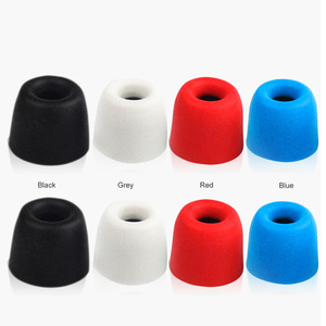 Image 3 - TRN 3 Pairs (6pcs) S/M/L 4.5mm T400 Noise Isolating Memory Foam Eartips For In Ear Earphone Earbud Ear Cushions With Retail Pack