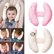 Baby Sleep Pillow Protection Car Seat Belt Pillow Protect Kids Head Shoulder Stroller Accessories YJS Dropship