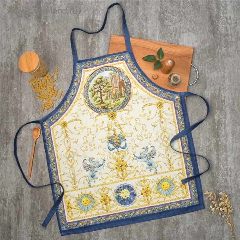 Apron Ethel Renaissance 60х70 cm cm, 100% CHL, twill 190 C/m2 4136519 table cloth round ethel rose d 160 cm 100