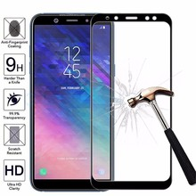 3D Protective Tempered Glass For Samsung Galaxy A3 A5 A7 J3 J5 J7 2017 Full Cover For Samsung J4 J6 A6 A8 Plus Screen Protector protective glass red line for samsung galaxy a5 2017 full screen 3d gold
