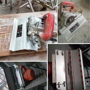 Image 5 - 面取りフレームマイターは45度切断機サポートマウントセラミックタイルカッターシート空気圧電気傾斜カッター