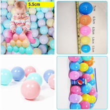 Ball Soft Water-Pool Plastic Colorful Baby 50pcs/Lot Swim-Pit-Toy Eco-Friendly Funny