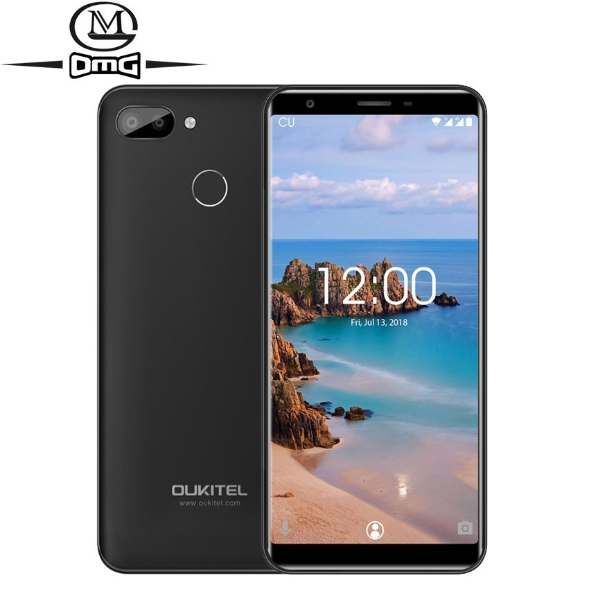 Oukitel C11 Pro 5.5 Inch Android 8.1 Mobile Phone 18:9 MTK6739 Quad Core 4G Smartphone 3G RAM 16G ROM 8MP 3400mAh Cell Phones
