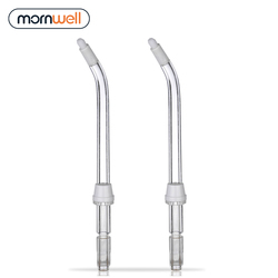 2 Orthodontic Tips With Mornwell D51 Detal Water Flosser Oral Irrigator For Braces and Teeth Whitening