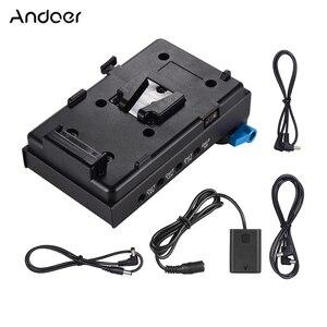 Image 1 - Andoer V şarj v kilit pil plakası Adaptörü Kelepçe ile NP FW50 Kukla Pil Sony A7 A7S A7R A7II a7SII A7RII A7III
