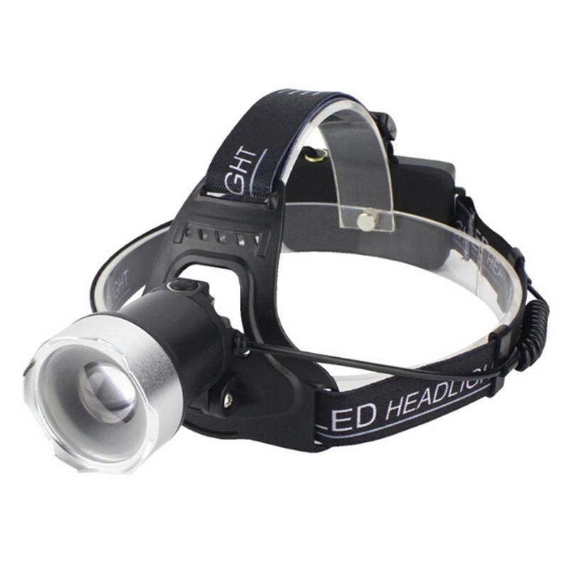 1 Stücke L2 Led-lampen Neue Scheinwerfer Scheinwerfer Licht Sinn Sensor Griff Fokus Usb Lade Nacht Angeln Scheinwerfer Tragbare Licht