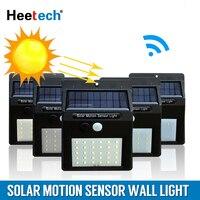 태양 램프 led 빛 pir 모션 센서 벽 빛 야외 방수 에너지 절약 정원 거리 마당 경로 홈 보안 램프