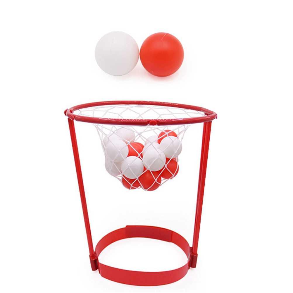 Basket Case Headband Hoop Bola Brinquedos Ao Ar Livre Bola de Captura Jogo Do Miúdo Favores Do Interior Cinta de Cabeça