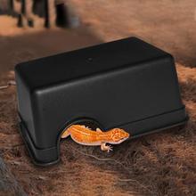 Маленькие рептилии домашние животные игрушки геккон змея укрытие дом еда воды чаша пещера скалолазание коробка