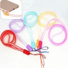 5 цветов, ремешок для телефона на шею для удостоверения личности, значок для карты, ключ для спортзала/держатель USB для мобильного телефона, сделай сам, висячий шнур, Лариат, ремешок