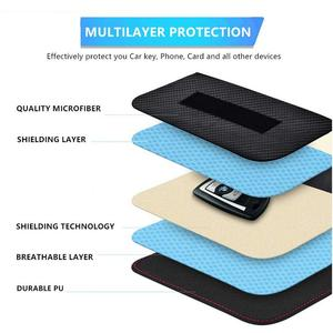 Image 4 - Signal Blocking Bag Cover Signal Blocker Case Faraday Cage Pouch For Keyless Car Keys Radiation Protection Cell Phone