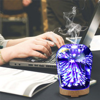 3D Diffuser Air Humidifier Essential Oil Diffuser With LED Night Lights Air Purification Home Mist Maker