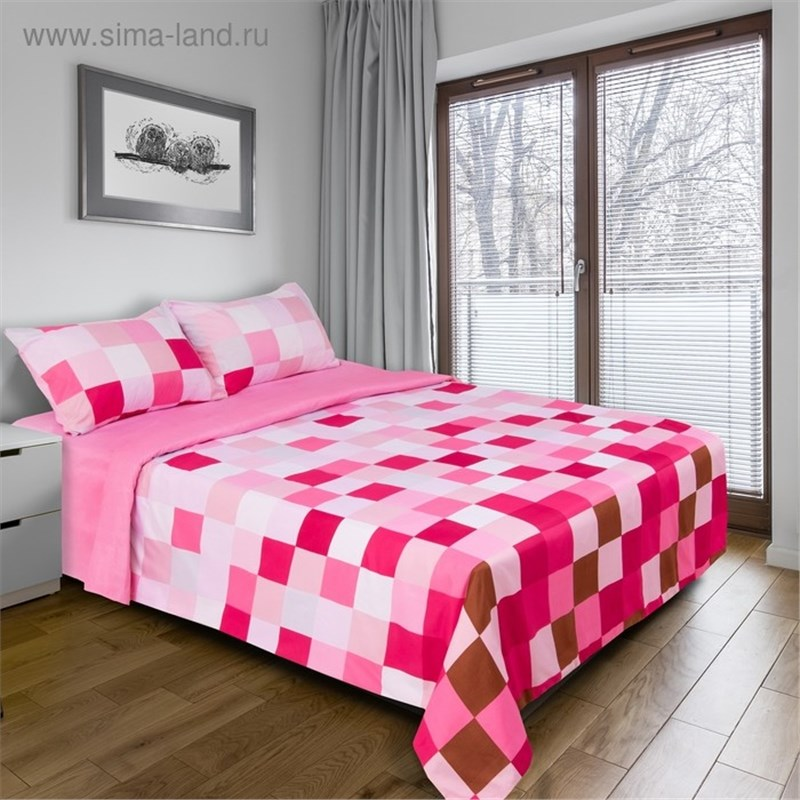 [Available with 10.11] linens euro Pixels (pink) [available with 10 11] linens euro pixels blue
