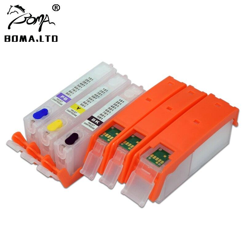 BOMA LTD PGI 480 CLI 481 480XXL 481XXL Refill Ink Cartridge For Canon PIXMA TS6140 TR7540