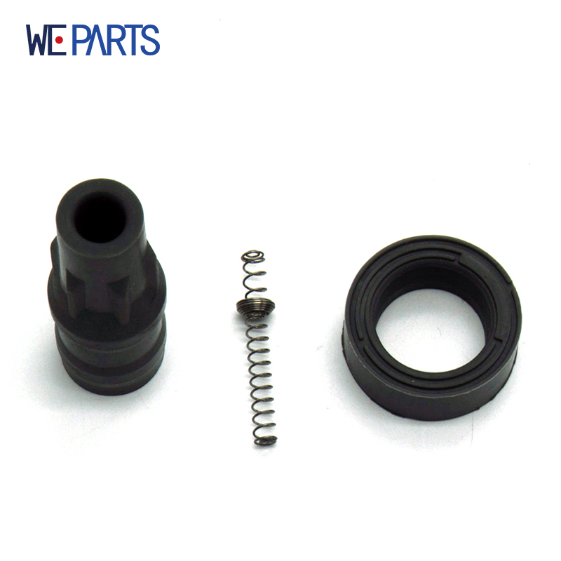 Ignition Coil Rubber Cap Connector OE FK0330 MN195616,MR994643 1415121 Wells C1504 For 2004-2008 Mitsubishi Colt 1.1 1.3
