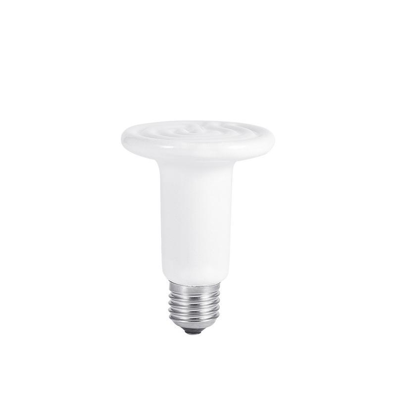 Pet Heating Lamp Bulb Infrared Khan Steam Ceramic Heating Lamp Aquarium Bulb Lamp Light Bulbs Lighting For Reptile Fish Pet