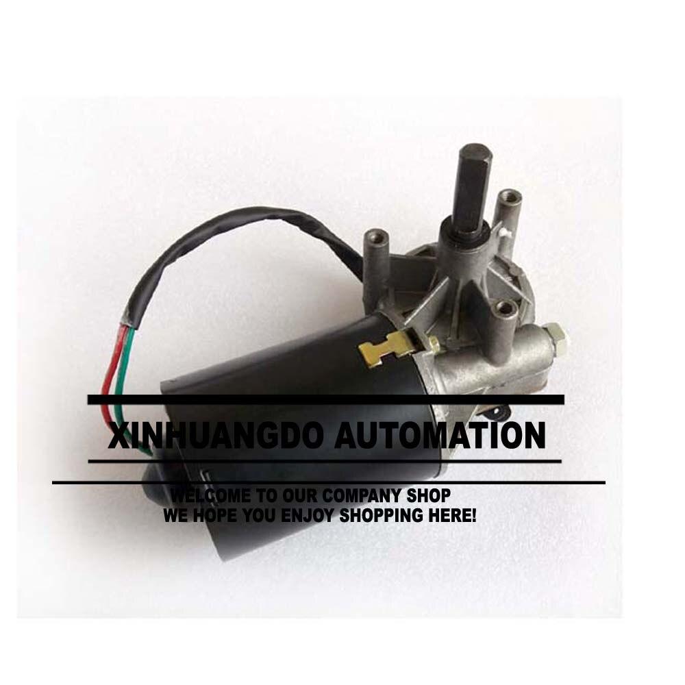 90RPM GW7085 dc 24v 8N m 4A low speed high torque worm gear reducer motor wiper