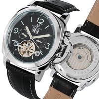 Tourbillon Mannen Horloge Automatische Mechancial Horloges Business Mens Hoge Licht Klok Met Kalender relogios masculino
