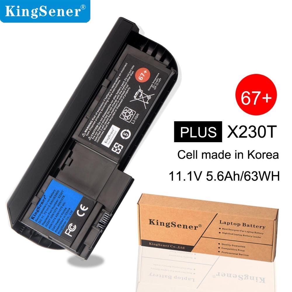 Bilgisayar ve Ofis'ten Dizüstü Bilgisayar Bataryaları'de 6 hücreleri KingSener Dizüstü lenovo için batarya ThinkPad X230T X230 Tablet 0A36317 45N1079 45N1077 45N1074 45N1075 45N1078 title=