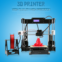 Anet A8 A6 A2 3D Printer DIY i3 Upgradest High Precision Prusa 3D Printer Kits with 8GB SD Card