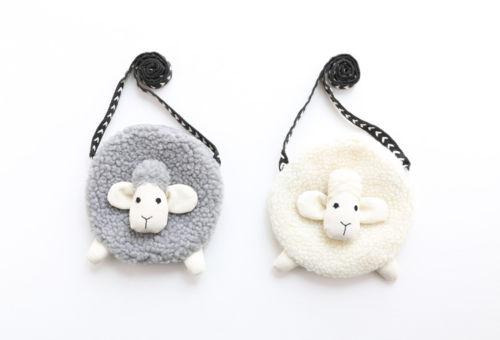 Kids Girl Bag Mini Cute Sheep Shape Single Shoulder Bag Toddler Mini Coin Purse Wallet Kids Girl Dress Accessories Bag