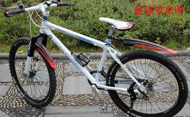 Tomount 2 pçs mountain mtb bicicleta paralama frente traseira ferramenta de ciclismo da bicicleta pára-choques asas guarda lama acessórios transporte da gota
