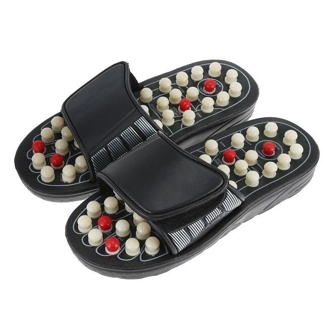Zapatillas de masaje para pies, zapatos para el cuidado de la salud