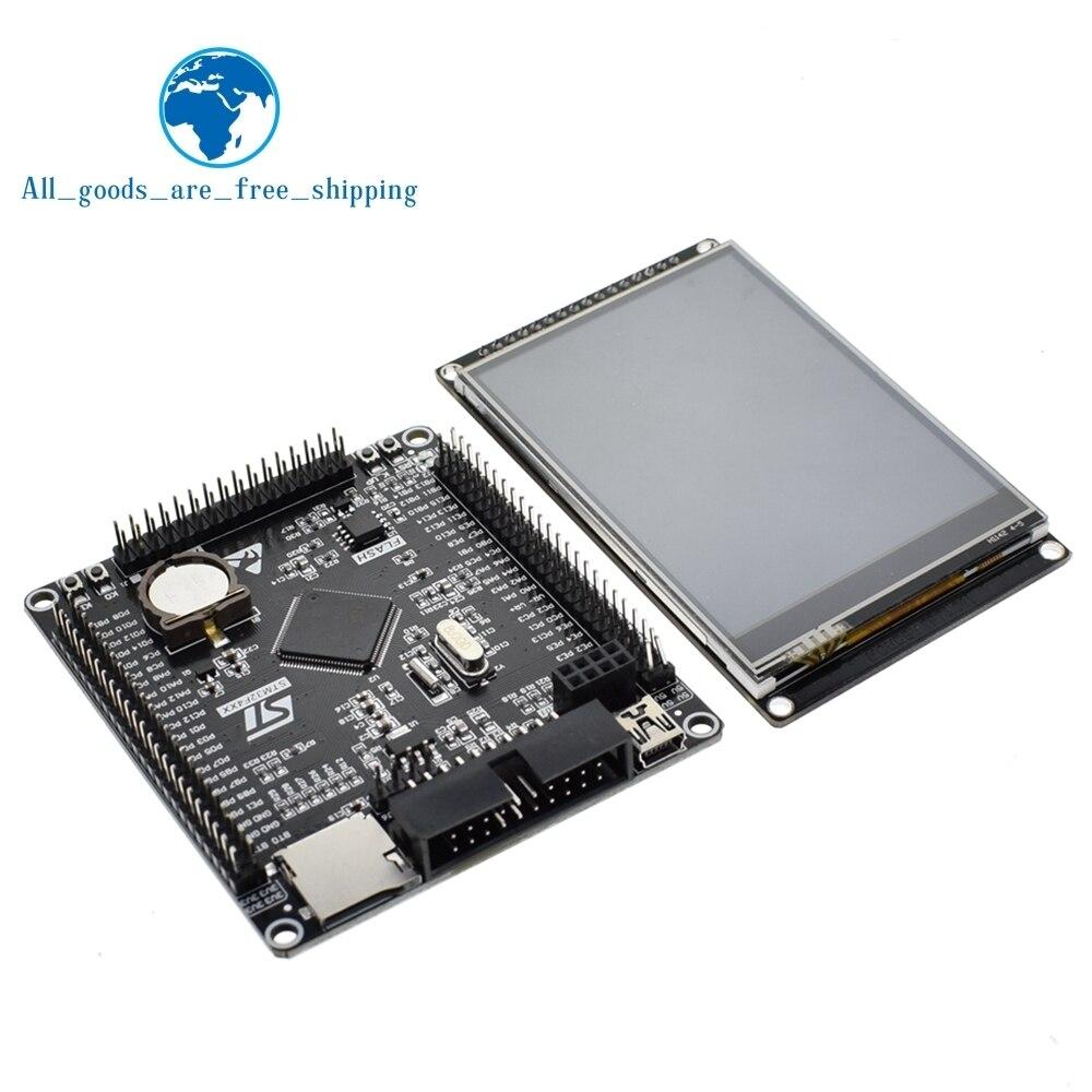 Image 3 - TZT 3.2 cal LCD TFT z ekranem dotykowym odporność ILI9341 dla STM32F407VET6 rozwoju pokładzie czarnyModuły LCD   -