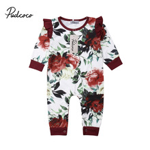 Winter Baby Girl Rompers Fashion Spring Newborn Baby