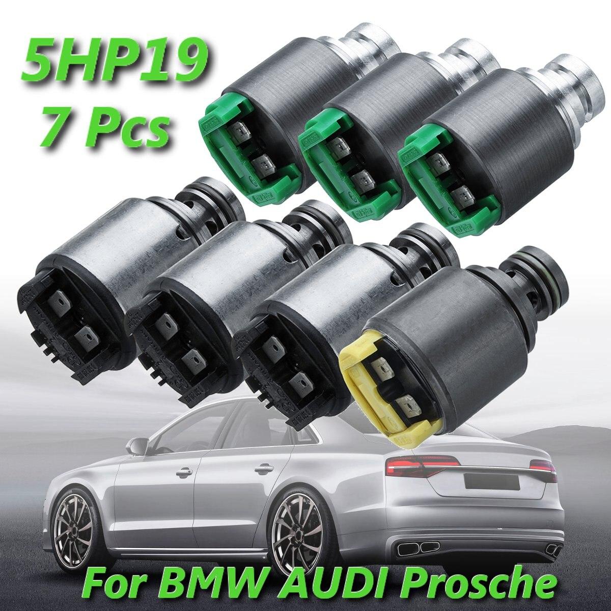 For BMW for AUDI A6  A8 S4 Prosche 911 BOXSTER 1060 298 033 7 Pcs 5HP19 Pressure Regulator Transmission Solenoids KitFor BMW for AUDI A6  A8 S4 Prosche 911 BOXSTER 1060 298 033 7 Pcs 5HP19 Pressure Regulator Transmission Solenoids Kit