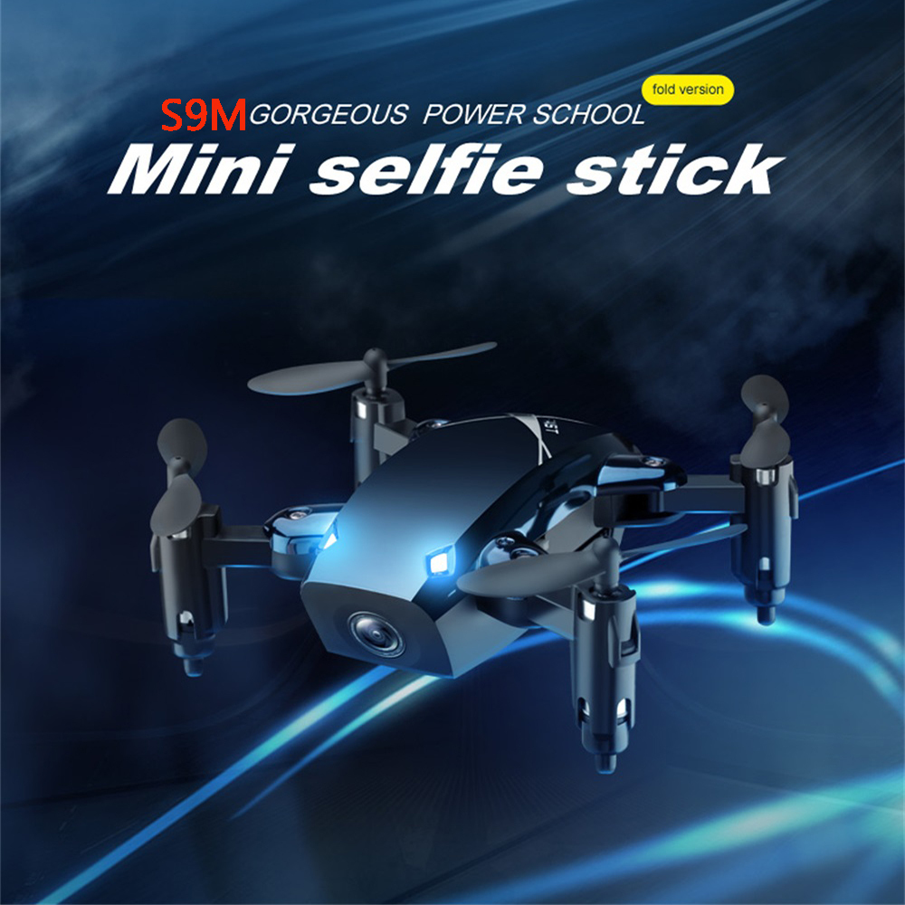 RC Quadrocopter Pocket Dron With 2mp HD Camera Foldable Drone With Gravity Sensor VS H31 S9 S9W S9HW Drone ZLRC in RC Helicopters from Toys Hobbies