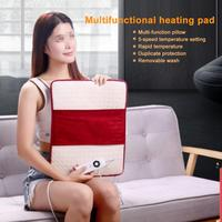 Multifunctional Electric Heating Therapy Pad Washable Back Pain Relief Mat Heated Warm Blacket EU US Plug Heat Auto Off Massage
