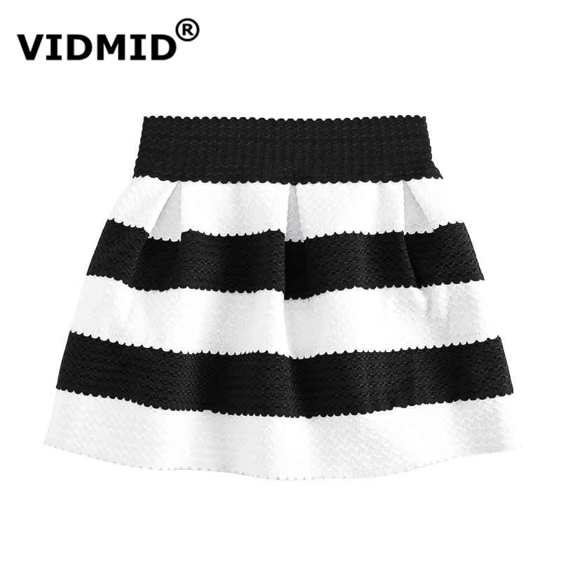 VIDMID New Striped girl Gonne Baby Clothing Ball gown Abbigliamento per bambini Autunno Inverno Lana knited Tutu Pettiskirts gonne