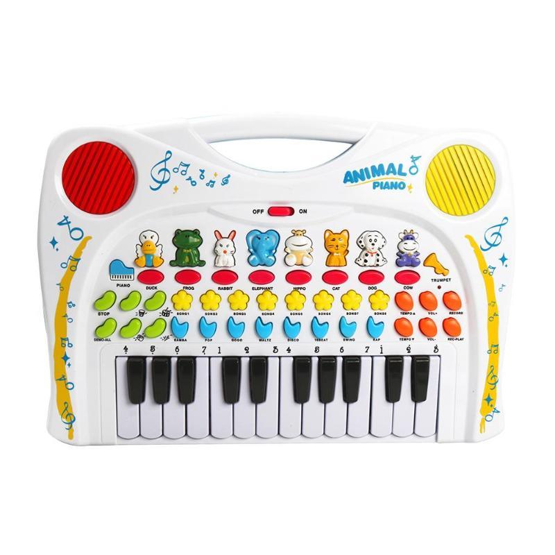 Bébé Musical enregistrement éducatif Replay Animal son jouet Piano musique jouets