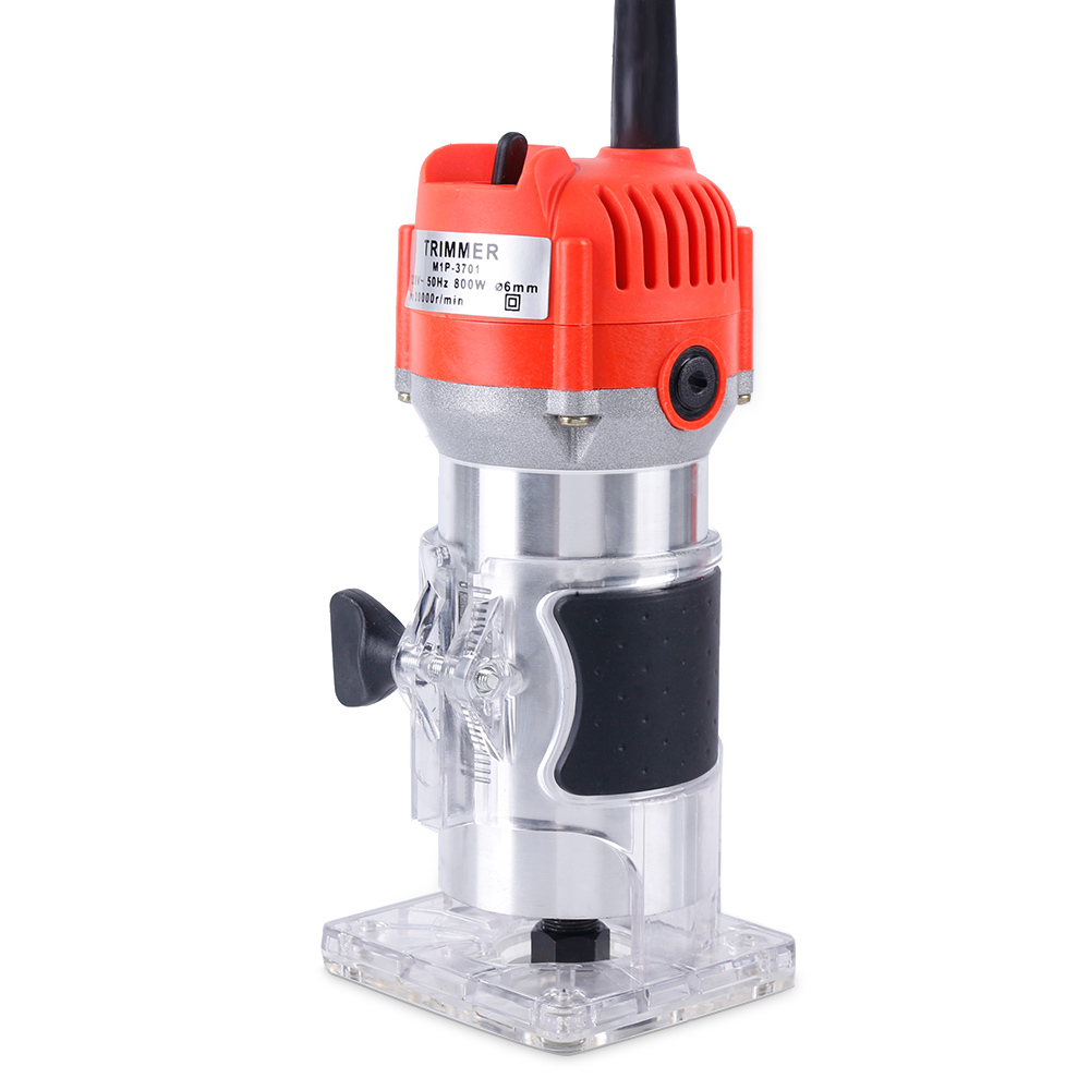 Professional Electric Wood Router Hand Trimmer Router Wood Carving Machine 800w 30000rpm Carpenter Industrial Use By Scientific Process