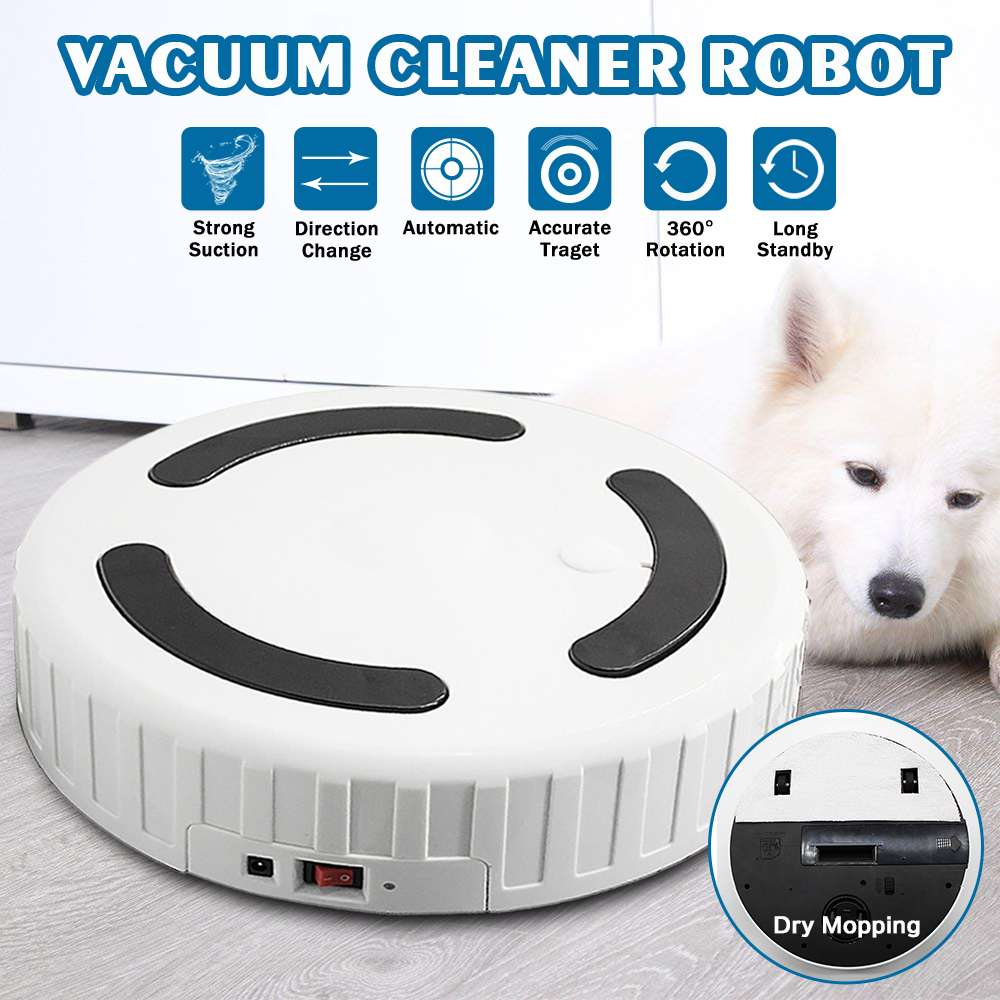 Rechargeable Clean Automatic Smart Sweeping Robot Floor Dirt Dust Hair - Powerful Vacuum Cleaner Auto HomeRechargeable Clean Automatic Smart Sweeping Robot Floor Dirt Dust Hair - Powerful Vacuum Cleaner Auto Home