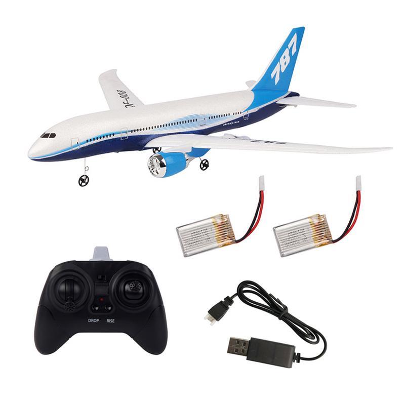 DIY Télécommande des Avions EPP RC Drone Boeing 787 2.4G 3Ch RC Avion à Voilure Fixe Avion Pour Enfant Garçon cadeau d'anniversaire