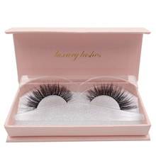 1 Pair false eyelashes  extention cilia makeup natural long 3d mink lashes soft eyelash fake eye box packet