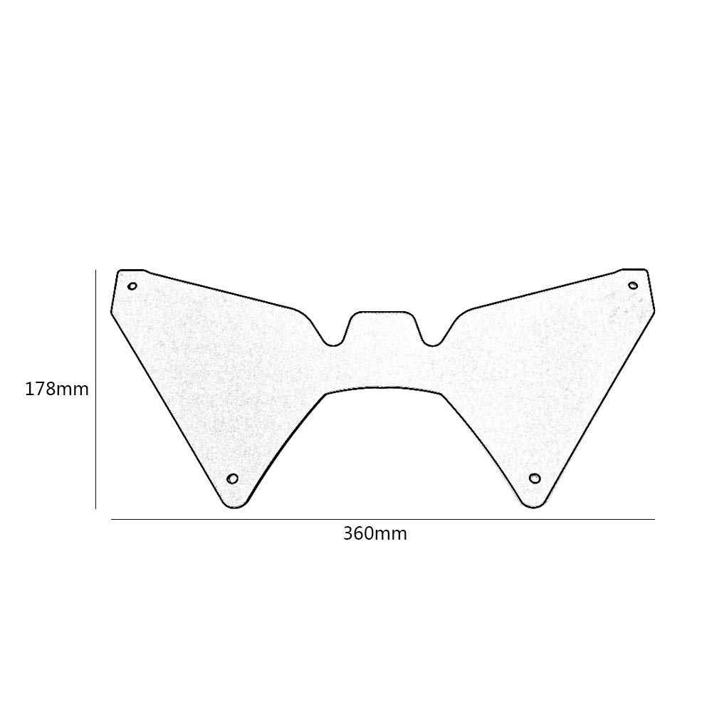 Motorcycle Forkshield Updraft Wind Deflector For Honda CRF1000L Africa Twin  2016 2017 2018 2019 Fork shield CRF 1000L CRF1000 L