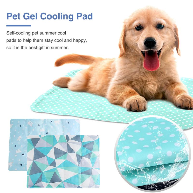 Summer Pet Dog Ice Pad Gel Cool Pad Summer Cooling Cat Dog Mat Cat Biting Kennel Cooler Cushion Puppy SleepingSummer Pet Dog Ice Pad Gel Cool Pad Summer Cooling Cat Dog Mat Cat Biting Kennel Cooler Cushion Puppy Sleeping