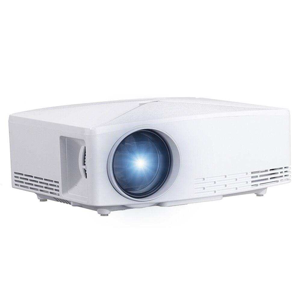 VIVIBRIGHT HD MINI projecteur C80 1280x720 projecteur vidéo LED Portable HD projecteur pour film de jeu Home Cinema