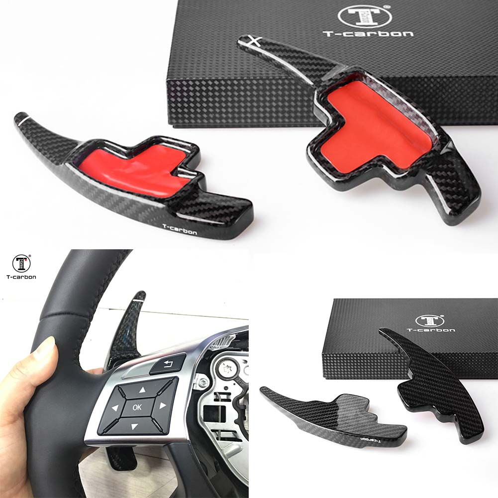 Auto Steering Wheel Shift Paddle Extension For Benz AMG W176 W204 W212 W166 W218